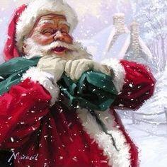 Vintage Christmas - Santa Claus
