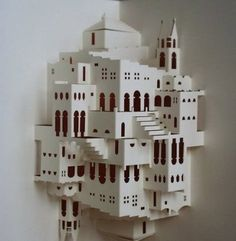 Kirigami Simple Escher Staircase                              …