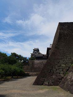 Cinderella's castle - Walt Disney World Kumamoto Castle, Japan Travel, Japan Trip, Japanese Castle, Medieval Houses, Famous Castles, Paradise On Earth, Japanese Architecture, Travel