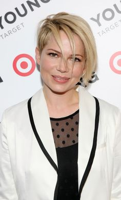 Michelle Williams Cut Her Hair Again—and Now It's So Edgy! (So Much for Growing Her Hair Out): Girls in the Beauty Department