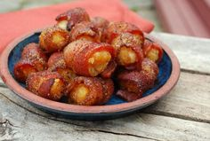 You would have never guessed these delicious tots are made with just 4 ingredients. This recipe for Sweet Bacon Tater Tots is everything you want in a bacon appetizer recipe. Bacon is wrapped around tater tots and rolled in a brown sugar mixture.