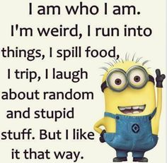Best 45 Very Funny minions Quotes - Quotes and Humor Funny Minion Memes, Minions Quotes, Minion Sayings, Hilarious Memes, Funny Sayings, Funny Humor, Cute Minion Quotes, Funny Poems, Funny Sarcastic