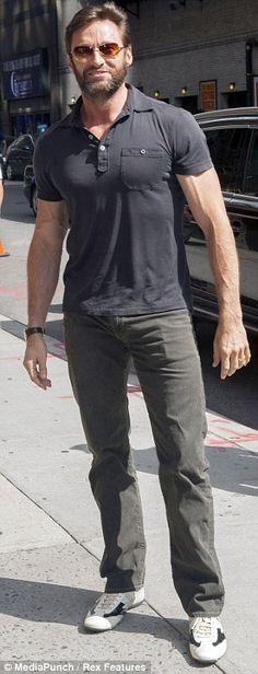 Hugh Jackman....oh hes adorable