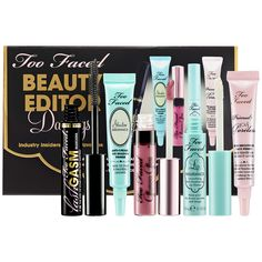 Great Set for only $19!! I have to get this ASAP - Too Faced Beauty Editor Darlings Set  | Sephora