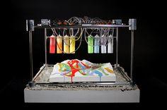 earthquake data converted into art - quakescape 3D fabricator by james boock