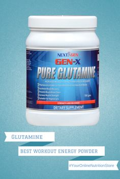Prevent Muscle Breakdown & Increase Muscle Strength with Gen-X Glutamine starting at just £20.99.  www.nextgen-x.com