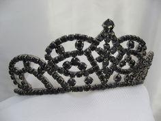 Black Fairy Tiara Medieval Gothic Evil Queen Costume Accessory 200 ...