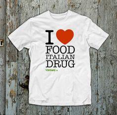 Food Italian Drug 06 t-shirt