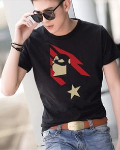 Cool Captain America t shirt for boys cartoon hero plus size cheap tee Plus Size T Shirts, Cool Cartoons, Summer Wear, Captain America, Marvel, Hero, Boys, Casual, Mens Tops