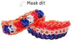 Rainbow Loom® Hup Holland Armbandje