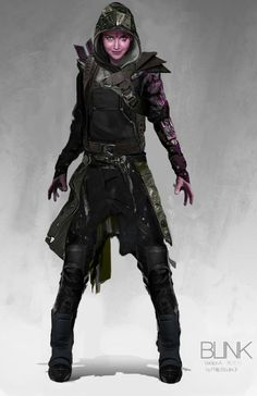 X-Men: Days of Future Past Concept Art - Blink by Philip Boute Jr. *