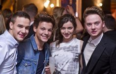 Liam, Louis, El, and Conor in the same picture?!? um heck to the yes