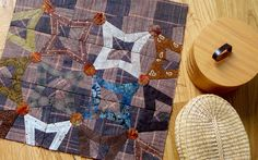 Love this block (Yoko Saito pattern; also in a recent Quiltmania?)