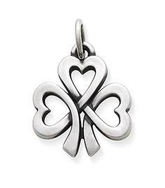 Shamrock of Hearts Charm: James Avery $39