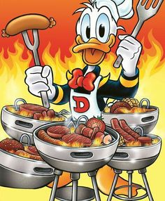 Disney's Donald Duck:) Donald Disney, Disney Duck, Disney Love, Disney Art, Disney Cartoon Characters, Disney Cartoons, Pato Donald Y Daisy, Don Rosa, Donald Duck Comic