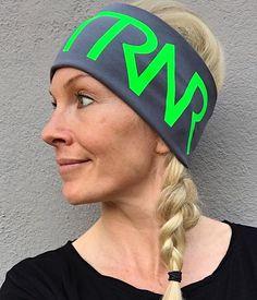 Grey & Green headband / pannebånd / panneband / pannband