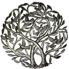 Double Tree of Life Metal Wall Art 24-inch Diameter *** Read more reviews of the product by visiting the link on the image. (This is an affiliate link and I receive a commission for the sales)