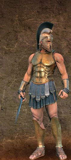 Rise of Rome / Roman Republic: Roman gladiator - usually a slave, who fought in an arena for entertainment of an audience Greek History, Roman History, Ancient History, European History, Ancient Aliens, American History, Greek Warrior, Fantasy Warrior, Greek Soldier