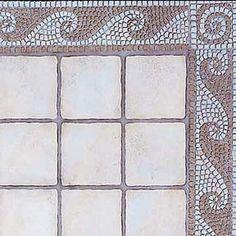 Stencils | Border Stencils Classic Mosaic Tile | Royal Design Studio