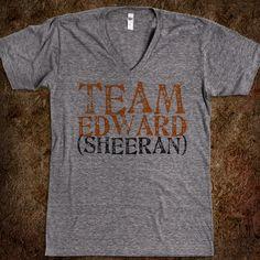 Haha, yess. Who doesn't like Ed?