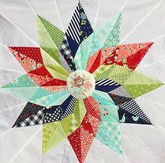 Good Luck Star Block Pattern