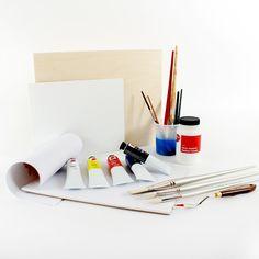 Ensemble de base pour peinture à l'acrylique | DeSerres