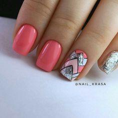 Nail Shapes - My Cool Nail Designs Acrylic Nail Designs, Nail Art Designs, Acrylic Nails, Matte Nails, Nails Design, Love Nails, Fun Nails, Gel Nagel Design, Nagellack Trends