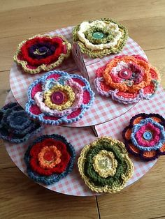 Ravelry: Triple Layer Flower pattern by Lucy of Attic24