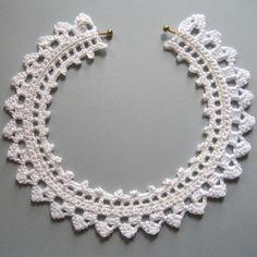 Thread Crocheted Choker
