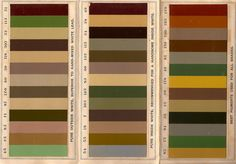 The Old House Blog: Historic Paint Colors for the Victorian Home--Late 19th century