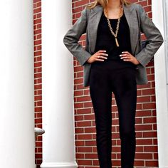 Necessary Objects Gray Oversized Boyfriend Blazer Please see photo 3 for description. Excellent condition. 1st photo is similar blazer. Last photo is the actual blazer from Nordstrom's website (where I purchased) just in a different color. Juniors sizing. Necessary Objects Jackets & Coats Blazers