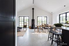 intressantahus-eriksson-011 Danish House, Long House, Scandinavian Home, Future House, Building A House, House Plans, New Homes, House Design, Simple