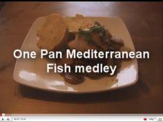 One Pan Mediterranean Fish Medley - MYVIRGINKITCHEN