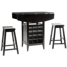 Emily 3-Piece Pub Table 305.00$ Set-AMH8504A at The Home Depot