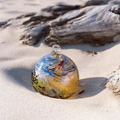 """Lincoln City, Oregon - """"FInders Keepers""""... Handmade Glass Floats are hidden on the beach for people to find! Awesome."""