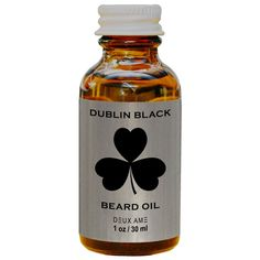 I'm growing out the beard so this is going to be necessary very soon! DUBLIN BLACK BEARD OIL