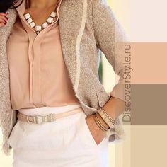6 нежных цветовых сочетаний в одежде.