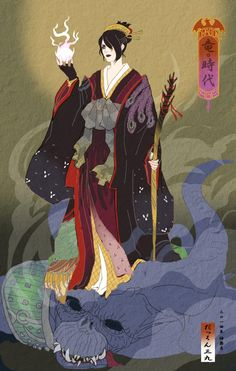 Dragon Age Ukiyo-e Character Fan Art - Created by Dakkun39