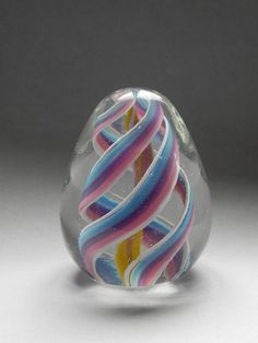 Paperweight handblown by Toseland Glass