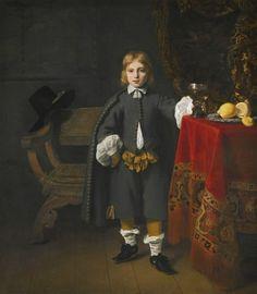 """""""Portrait of a Boy Aged 8"""" by Ferdinand Bol"""
