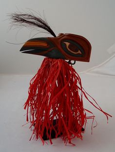 hand carved raven mask artist, David Caricato featured at Spirits in the Wind Gallery Golden, CO