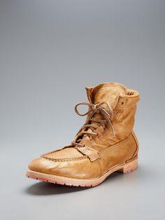 Vintage Shoe Company  Vincent Lace Up Boots