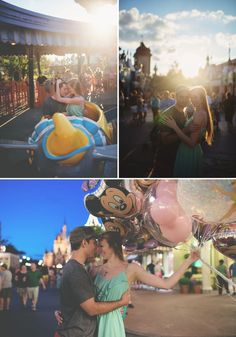 Walt Disney World Honeymoon Session by Blue Dandelion Photography // Inspired By Dis