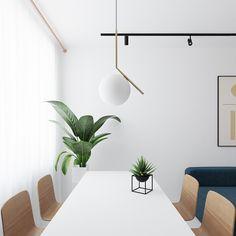 Rooms Ideas, Bright Apartment, Appartement Design, Asian Interior, Tastefully Simple, Interior Design Work, White Space, Interiores Design, White Walls