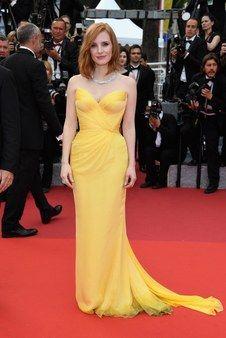 Cannes Film Festival Fashion 2016 - Jessica Chastain in Armani Privé