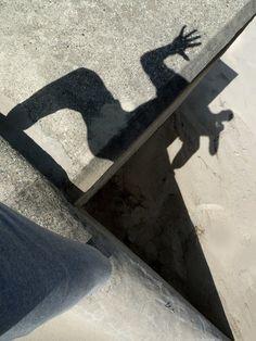 Frank Rheinboldt '12 selfp Shadow Art, Shadow Play, Light And Shadow, Masters, Shadows, Reflection, Organize, Composition, Sidewalk