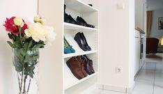 pimp your billy regal garderobe schuhregal schuhschrank offen hack hacking shoes jacket billy. Black Bedroom Furniture Sets. Home Design Ideas