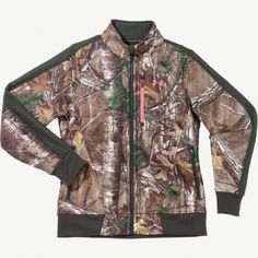 Women's Under Armour Realtree Xtra Camo Fleece Jacket  #Realtreecamo