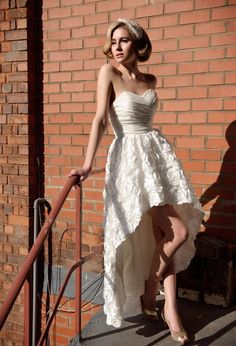 Short Wedding Dresses With Style « The Art of Weddings. Oregon Wedding Planning
