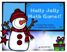 10 Holiday-themed games for building fluency with multiplication!